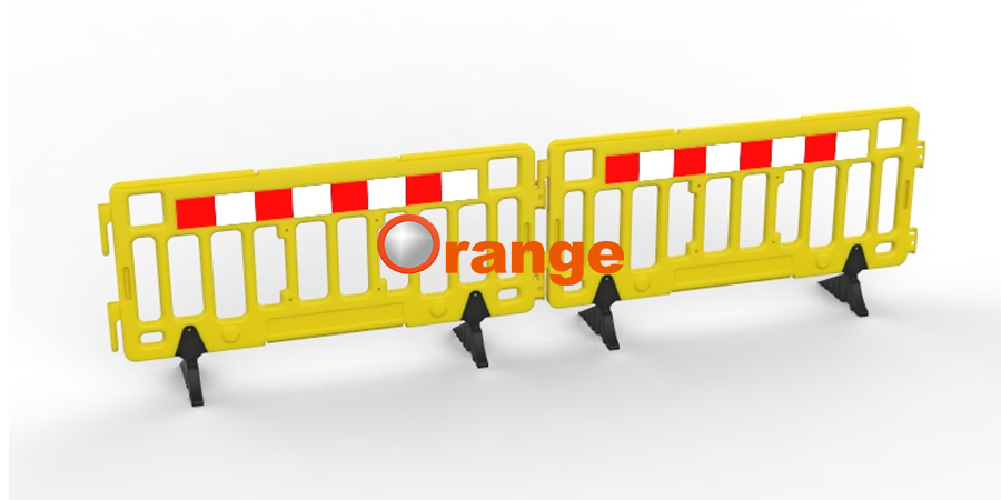 2Meter Plastic Fence Barrier1