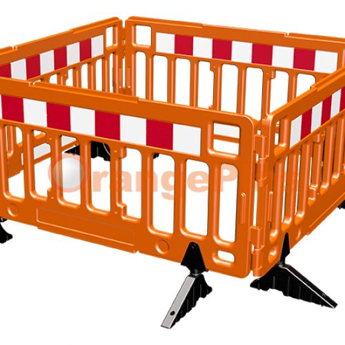 2Meter Plastic Fence Barrier
