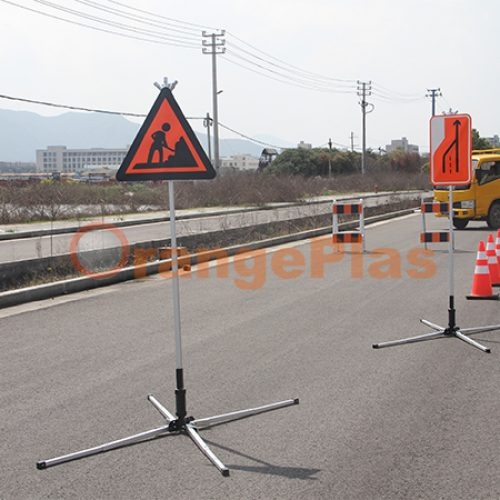 120Cm Diamond Roll Up Sign Stand