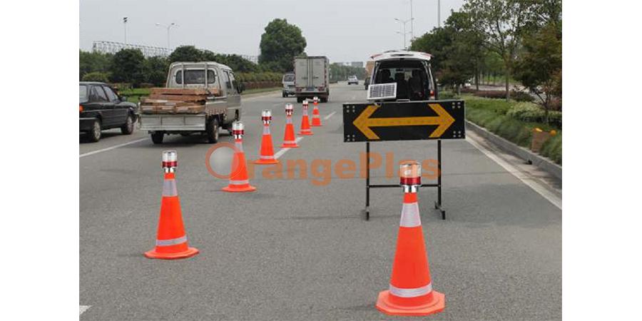 Solar Traffic Cone Lamp (5)