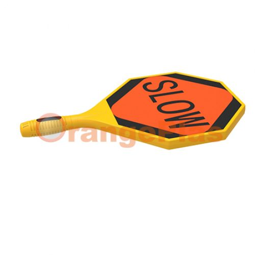 Blow-Molded Slow-Stop Paddle