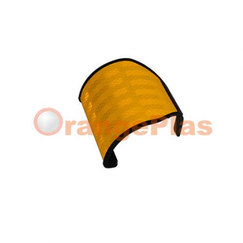Flexible Wide-Angle GuardRail Reflector