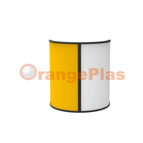 Double-sided GuardRail Curve Reflector