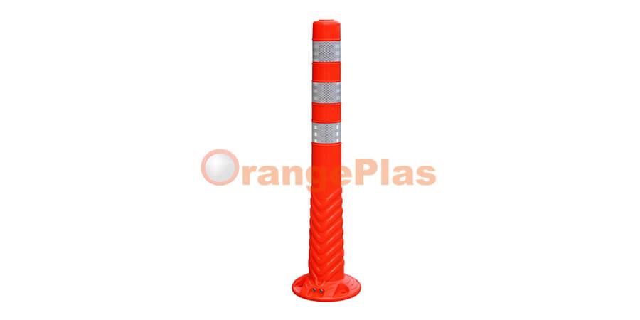 Single-Piece Flexible Post
