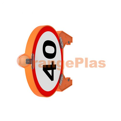 70CM Foldable Round Sign